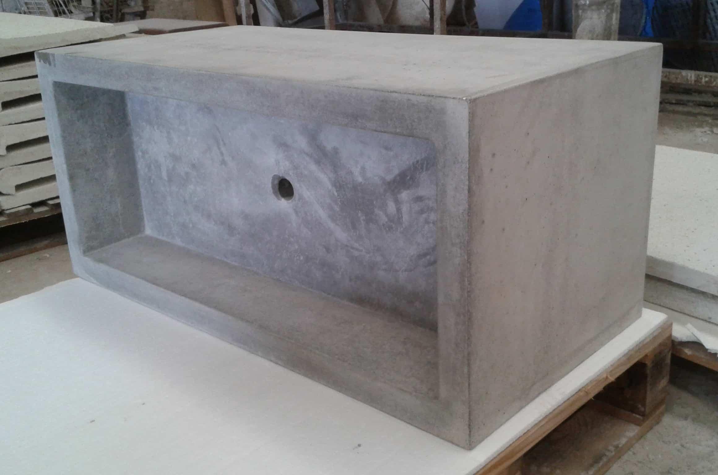 Lavabo de cemento minimalista – PREDECAT