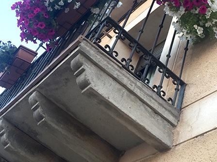 Pérgolas decorativas para balcón